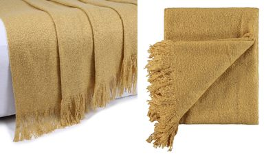Lyla Throw (Gold)