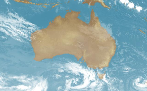 Large parts of Australia's southeast will face frost, damaging winds and heavy rain today.