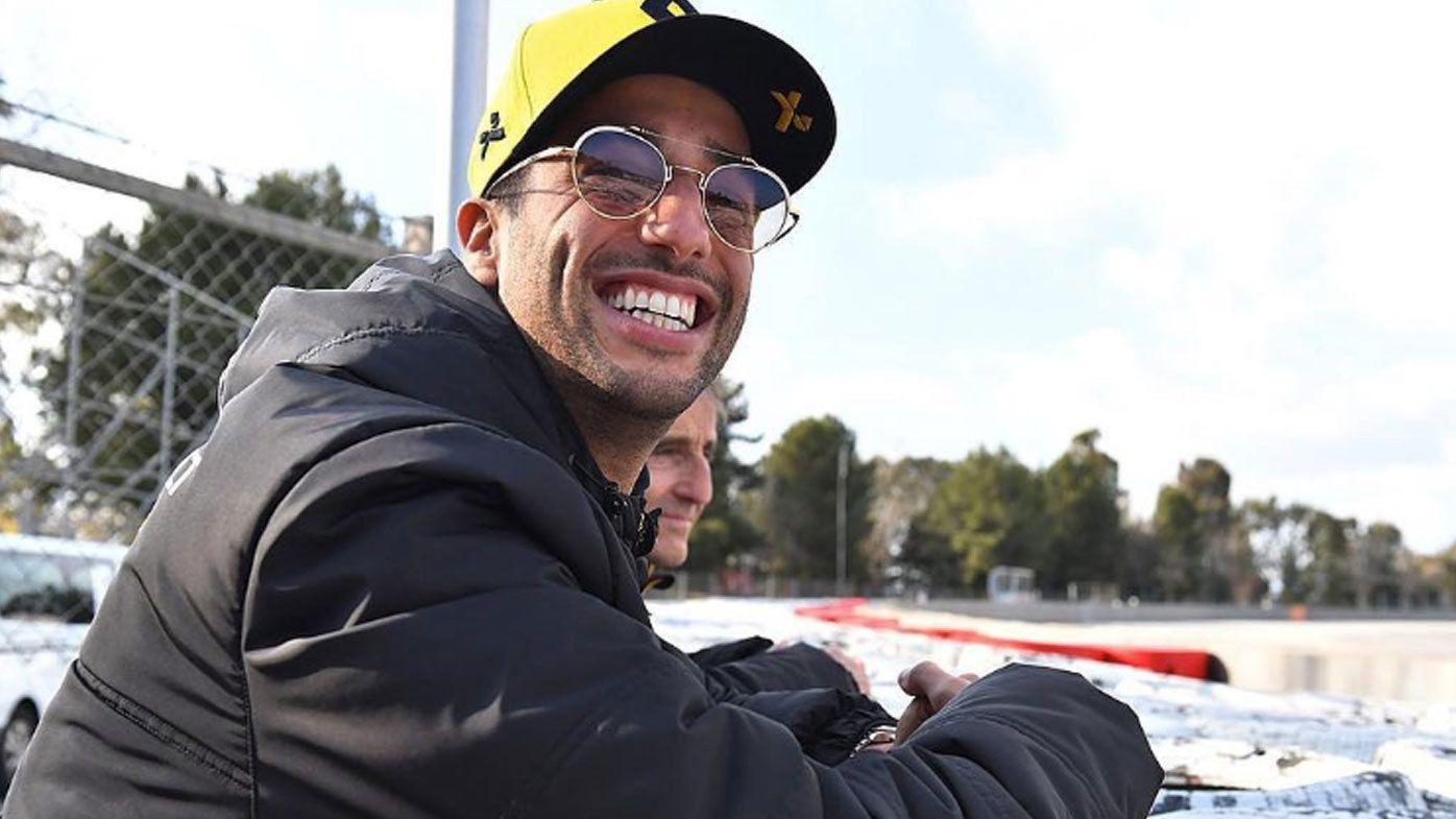 Renault's Daniel Ricciardo third on day three of testing, Daniil Kvyat fastest with Torro Rosso