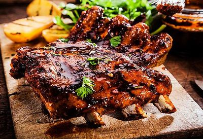 "Recipe: <a href=""http://kitchen.nine.com.au/2016/05/04/15/40/ben-farleys-sticky-asian-lamb-riblets"" target=""_top"">Ben Farley's sticky Asian lamb riblets</a>"