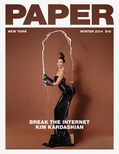<p><strong><em>The one that broke the internet</em></strong></p> <p>Kim Kardashian, <em>Paper Magazine</em> Winter 2014</p>
