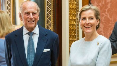 Prince Philip gives patronage to Sophie, the Countess of Wessex