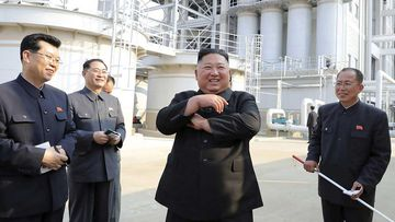 Kim Jong-un visits a fertiliser plant, in his first public appearance in weeks.