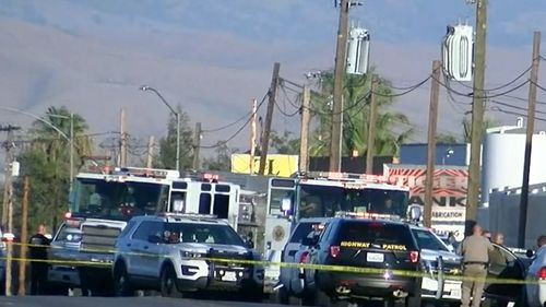 Officers located the gunman after he killed five people. He then shot himself.