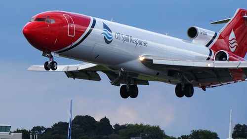 Oil Spill Response still operates a 727 to tackle oil slicks. Picture: Thom Patterson/CNN