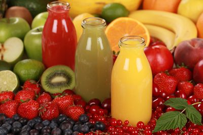 <strong>Ditch the fruit juice</strong>