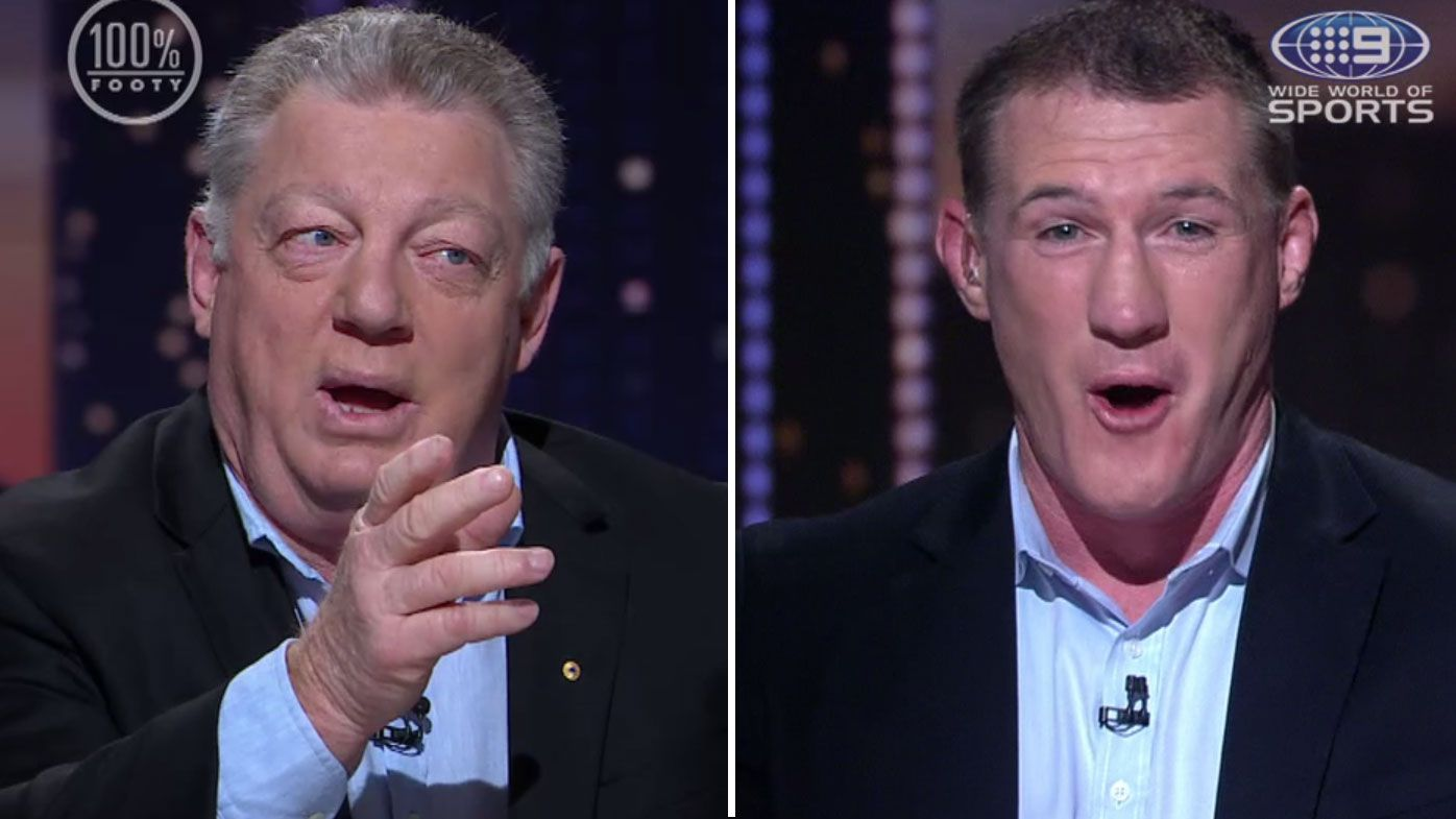 'Don't put words in my mouth': Phil Gould and Paul Gallen fire-up over NRL's six-again rule