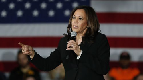 Kamala Harris was once considered a top contender to take on Donald Trump.