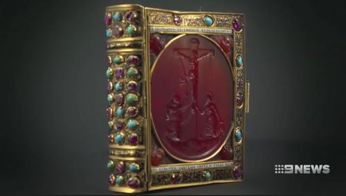 The prayer book has been valued at $15 million.