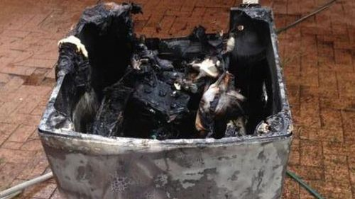 Samsung have reported 206 fires caused by the faulty washing machines. (Supplied)