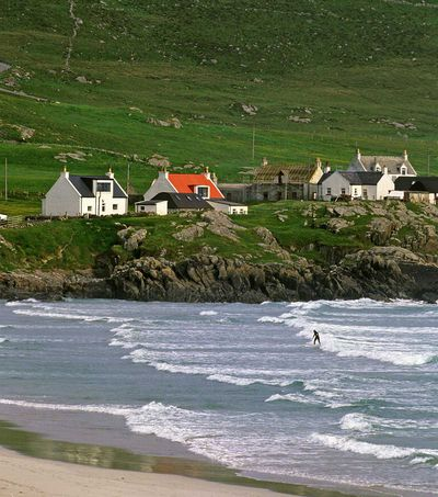 <strong>Best Scottish island for surfing... Isle of Tiree</strong>