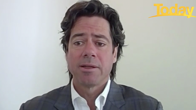 Gillon McLachlan speaks to Today about the decision to move the AFL Grand Final to Brisbane.