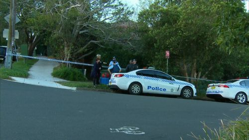 Police say the occupant of the home died close to a year ago. Picture: 9NEWS
