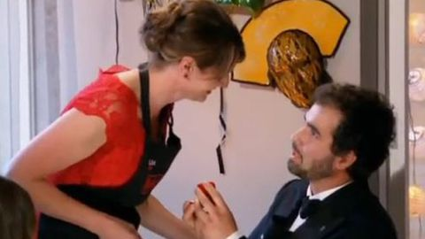 Watch: My Kitchen Rules marriage proposal - was it staged?