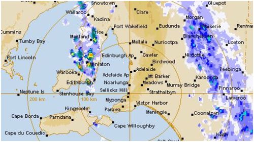 Up to 50mm of rain is expected in some areas. (BoM)