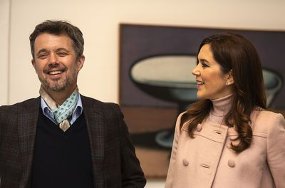 Prince Frederik and Princess Mary visit the Art Museum Brandts, November 2019