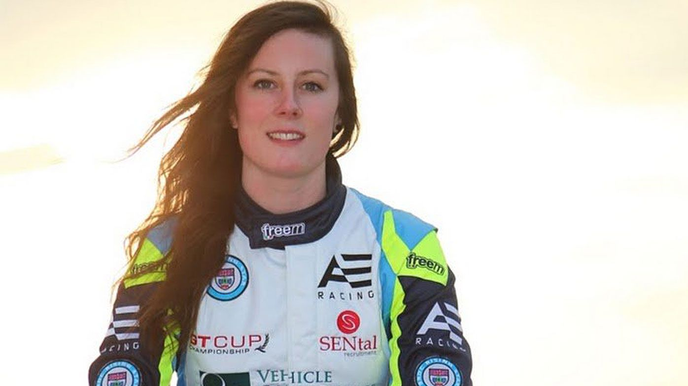 English driver Abbie Eaton completes Supercars test