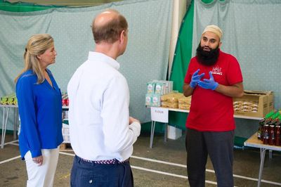 The Earl and Countess of Wessex mark the end of Ramadan during COVID-19
