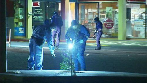 Police on the scene. (9NEWS)