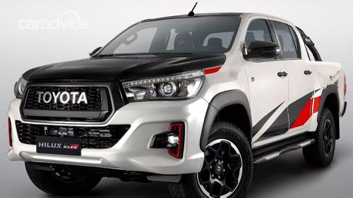 Toyota unveiled the HiLux GR Sport at the Sao Paulo motor show.
