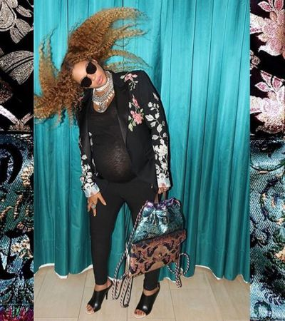 I whip my hair back and forth. Well, Beyonce does anyway. And we love her for it.