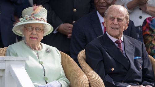 Prince Philip back in action days after hospital stay