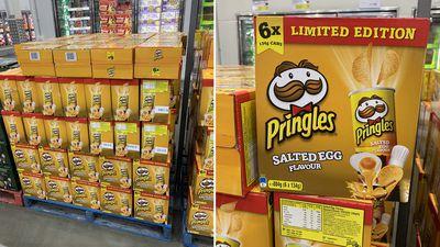 Salted egg Pringles