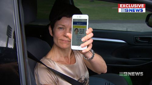 The smartphone app will be used during roadside police checks. (9NEWS)