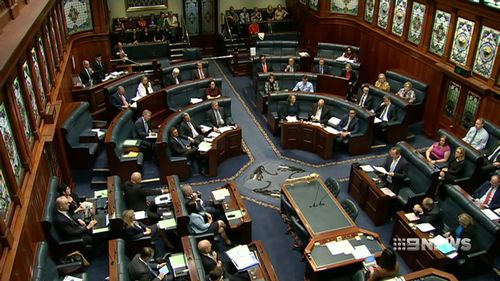 Each of the 59 MPs in the Legislative Assembly will now have their say before the Bill is passed by that chamber.