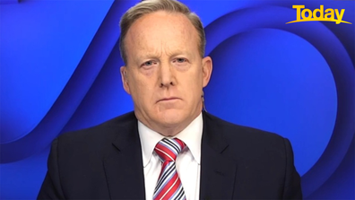 Sean Spicer said we haven't seen the last of Mr Trump, throwing cold water on upcoming impeachment trial.