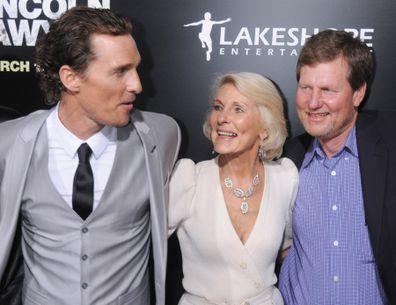 Matthew McConaughey, mother
