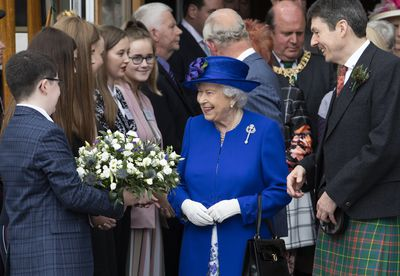 Prince Charles joins the Queen in Scotland