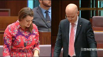 David Leyonhjelm calls Malcolm Turnbull a 'pussy'
