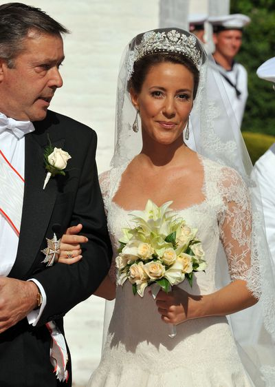 Princess Marie of Denmark's wedding tiara
