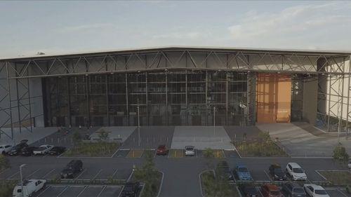 Coomera Indoor Sports Centre. (9NEWS)