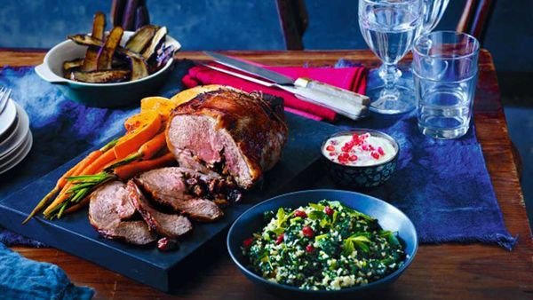 Persian spiced lamb