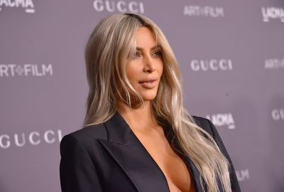 <p>Kim Kardashian has stunned fellow Hollywood A-Listers by stepping out at a significant fashion event wearing a somewhat unusual outfit.</p> <p>We say somewhat because a classic tuxedo isn't that out of the ordinary - even on a woman. But it is when it's worn sans shirt.</p> <p>Yes, Kimmy K wore her tuxedo unbuttoned and with absolutely nothing underneath except her ample cleavage and toned belly. It's not a look we see very often and there's perhaps a reason for that. Still, what's fashion if not daring and imaginative? Not much at all.</p> <p>Speaking of daring and imaginative, many of the celebrities who attended the event, the Los Angeles County Museum of Art's seventh annual Art+Film Gala, also dressed in memorable style. Scroll through and see.</p>