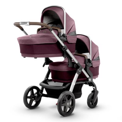 "<a href=""https://www.silvercross.com.au/collections/wave/products/wave-claret"" target=""_blank"">Silver Cross Wave Pram in Claret, $1999.</a>"