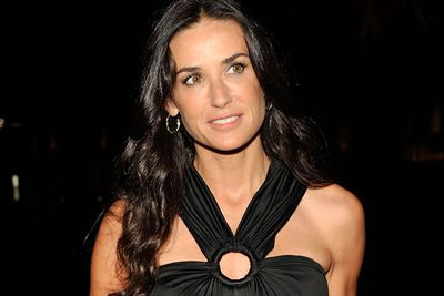 The ever youthful Demi Moore is fast approaching her 50th year...but still looks as flawless as a 30-year-old.