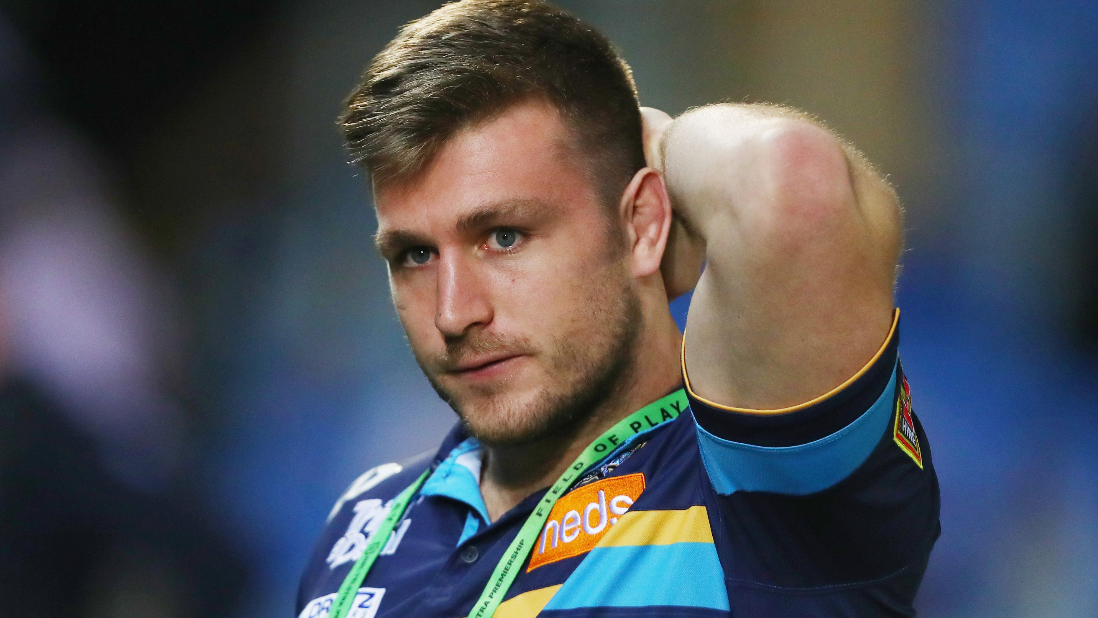 Gold Coast Titans coach digs in over Jai Arrow