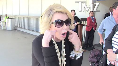 Joan Rivers' most outrageous moments (Gallery)