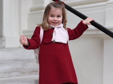 The way Princess Charlotte welcomes guests at Kensington Palace will make you smile