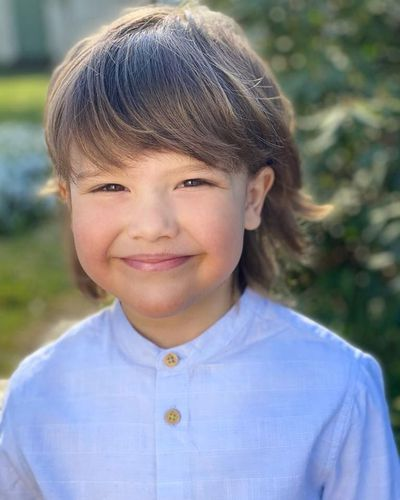 Prince Alexander of Sweden turns five