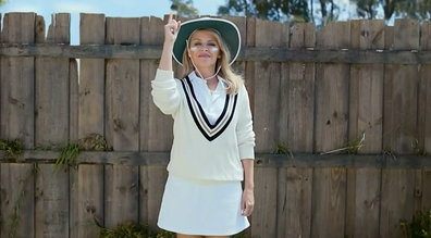 The ad highlights the best Australia has to offer...in a tongue-in-cheek way of course.
