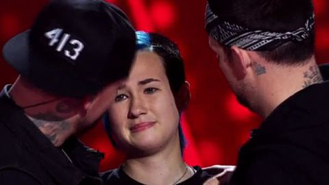 Watch: Good Charlotte's biggest fan auditions on Voice Kids... but Joel and Benji don't turn!