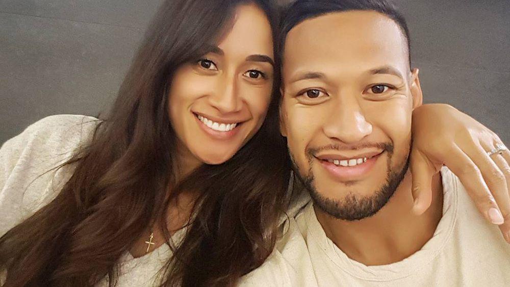Wallabies star Israel Folau knocked back $500k to spend time with fiancée Maria Tutaia