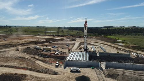 190514 Sydney Badgerys Creek Airport bridge construction News NSW