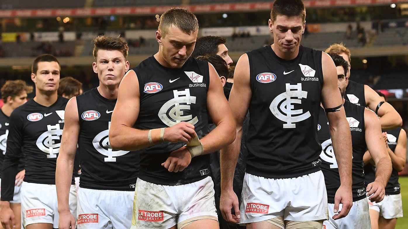 AFL legend Leigh Matthews says Carlton 'closer to bottom four than finals'