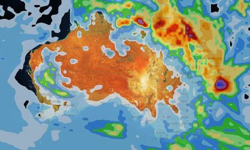 Summer will end on a wet note for the majority of the country this weekend. (Weatherzone)