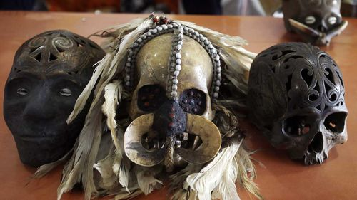 Skulls in the mail: Indonesia foils artifact smuggling